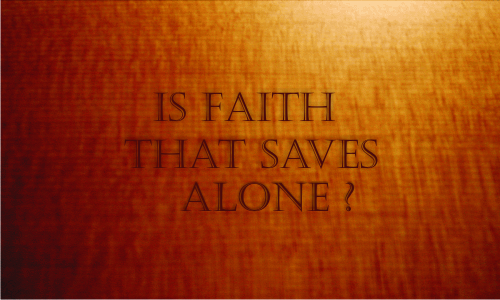 Is faith that saves alone? | Colin D Cruz – Word of Grace Church, Pune