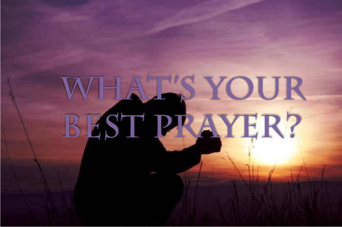 What's your best prayer? | Pete Harwood – Word of Grace Church, Pune