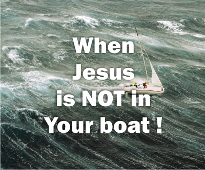When Jesus is NOT in your boat | Colin D'Cruz – Word of Grace Church, Pune