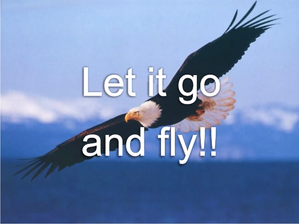 Let it go and fly!! – Word of Grace Church, Pune