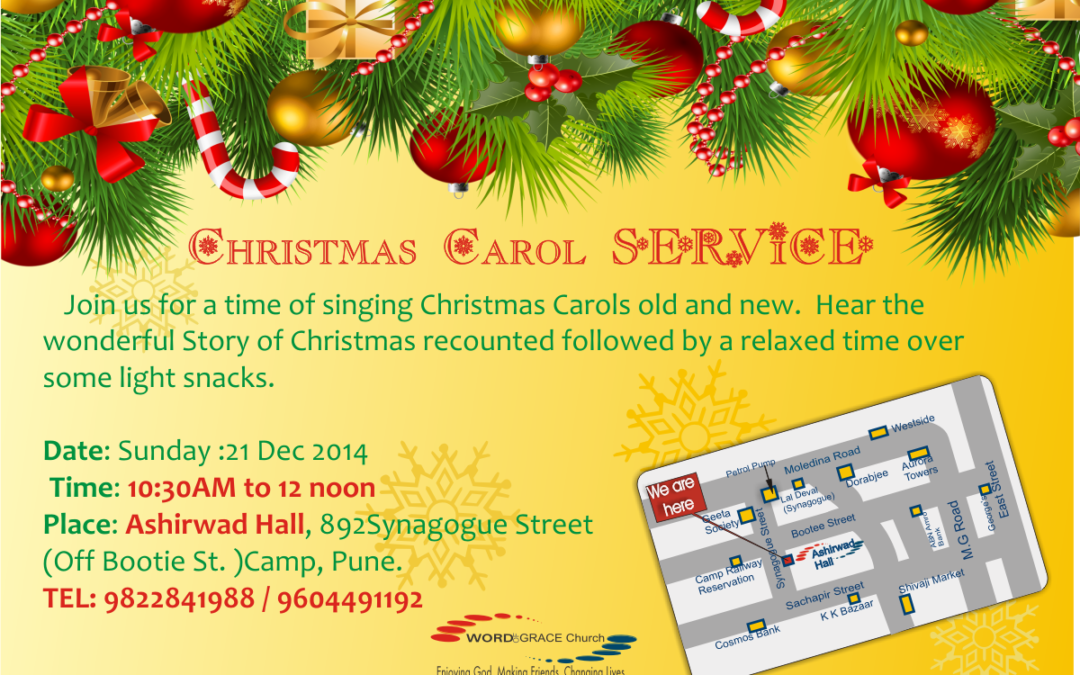 Christmas Carol Service – Word of Grace Church, Pune