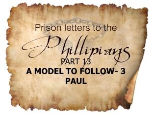 Philippians 13: A Model to Follow-3| Colin D'cruz Philippians 13: A Model to Follow-3| Colin D'cruz – Word of Grace Church, Pune