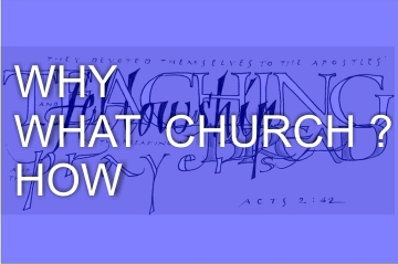 Why , what, How Church? | Colin D 'Cruz Why , what, How Church? | Colin D 'Cruz – Word of Grace Church, Pune