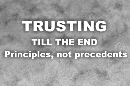 Trusting God till the end | Justin Trusting God till the end | Justin – Word of Grace Church, Pune