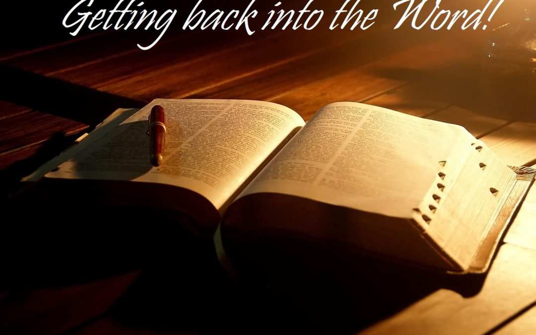 Getting back into the Word| Chris – Word of Grace Church, Pune