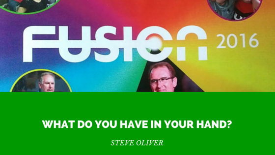 What do you have in your hand? Steve Oliver? | FUSION 2016 – Word of Grace Church, Pune