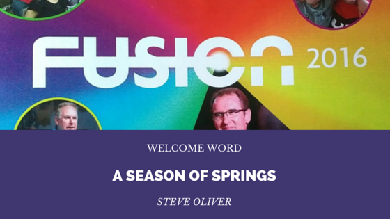 Season of Springs – Steve Oliver | FUSION 2016 – Word of Grace Church, Pune