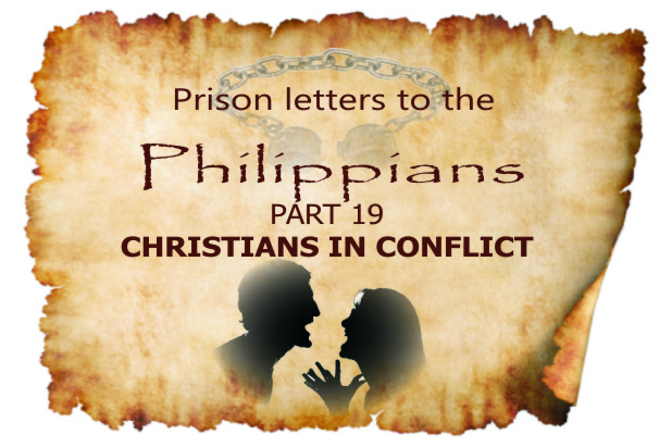 Philippians Part 19: Christians in conflict| Colin D – Word of Grace Church, Pune