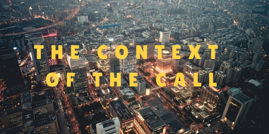 The context of the call| Justin J – Word of Grace Church, Pune
