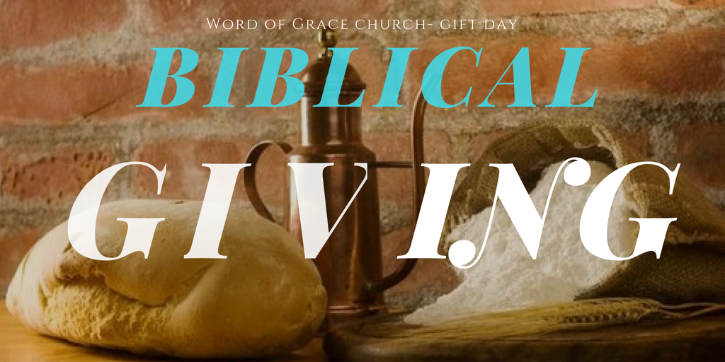Biblical Giving| Colin D – Word of Grace Church, Pune