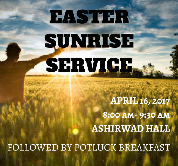 Easter Sunrise Service – Word of Grace Church, Pune