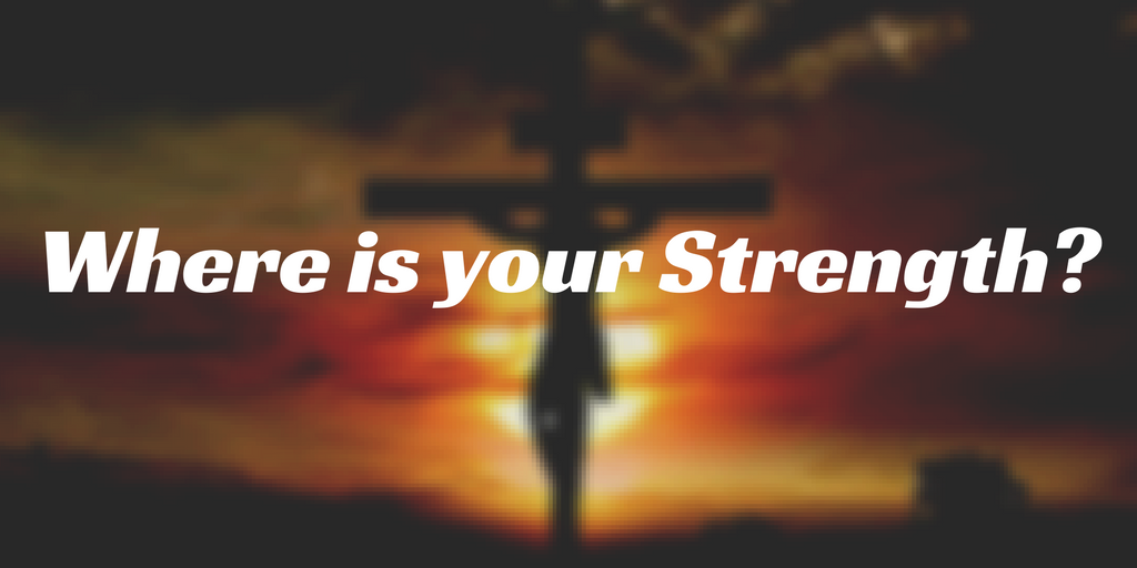 Where is your Strength? | Chris B – Word of Grace Church, Pune