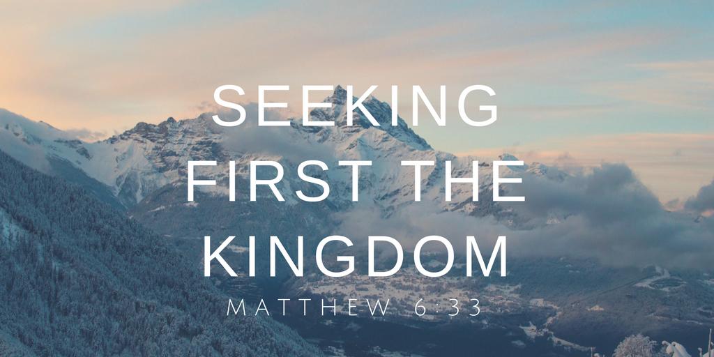 Seeking the Kingdom   Colin D – Word of Grace Church, Pune