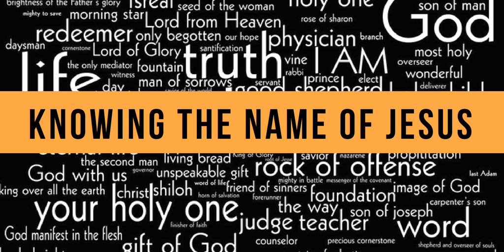 Knowing the Name of Jesus | Chris B – Word of Grace Church, Pune