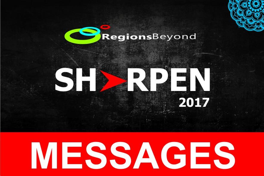 SHARPEN 2017 MESSAGES – Word of Grace Church, Pune