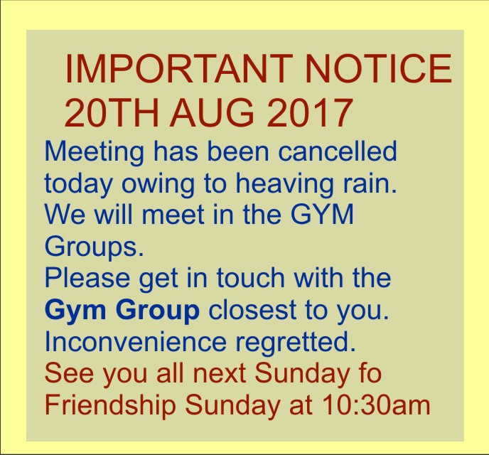 Important Notice – Word of Grace Church, Pune