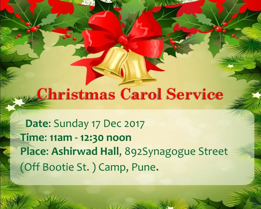 Christmas Carol Service 2017 – Word of Grace Church, Pune