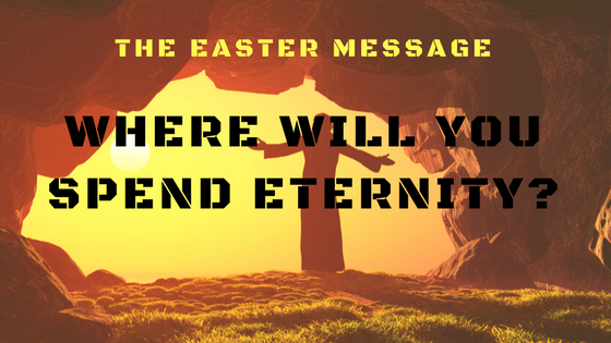 Where will you spend eternity? | Colin D