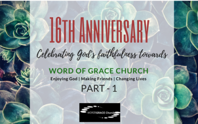 Faithfulness – Fruitfulness – Leaving a Legacy : 16th Anniversary Prophetic Sharing- Part 1 | Colin D