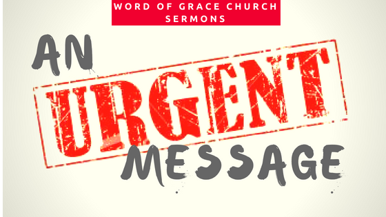 An Urgent Message | Colin D