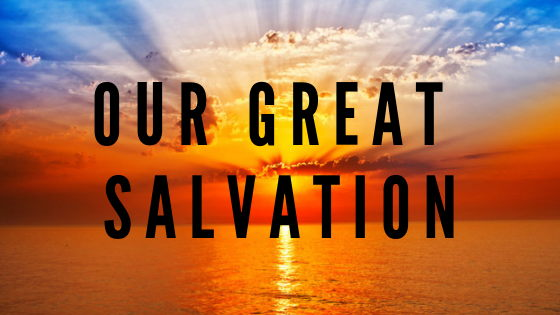 Our Great Salvation | Colin D'Cruz