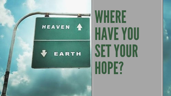 Where have you set your hope? | Chris B