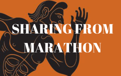 Sharing from Marathon Part 1| Colin and Navaz D