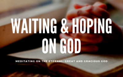 Waiting and hoping on God | Colin D