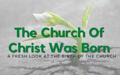 The Church Of Christ Was Born