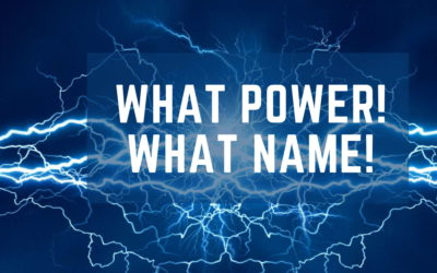 What Power! What Name ! – The Early Church