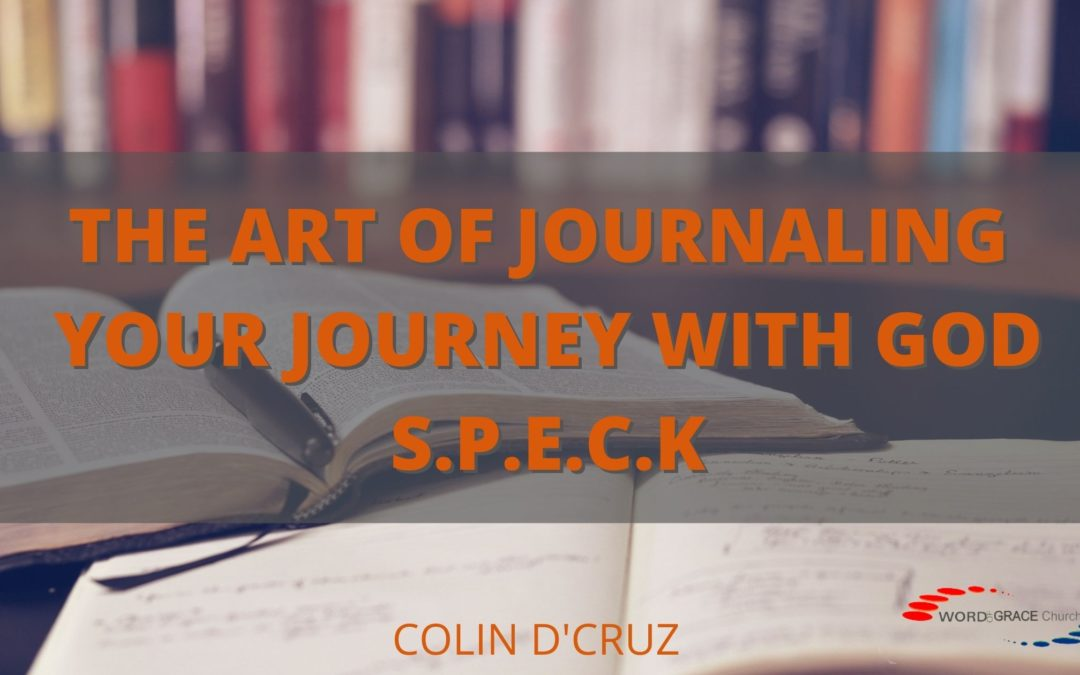 The Art Of Journaling Your Journey With God